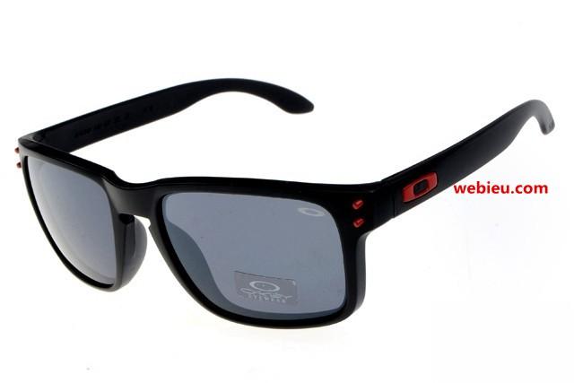 Oakley Holbrook Sunglasses Black Frame Fire Iridium « Heritage Malta 7bc810ec93