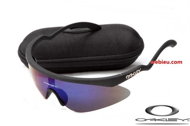 oakley womens razor blade sunglasses  fake oakleys razor blade new sunglasses with black frame / ice iridium lens,wholesale replica oakley sunglasses