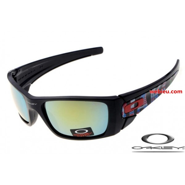eiqhw fake Oakleys fuel cell sunglasses matte black / fire iridium