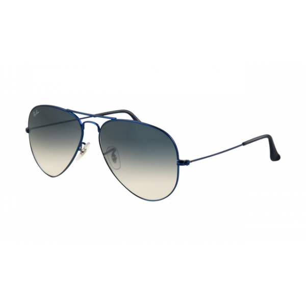 Ray Ban Black Frame Blue Lens