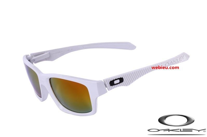 6e05581cc7518 fake Oakleys jupiter carbon sunglasses white   fire iridium ...