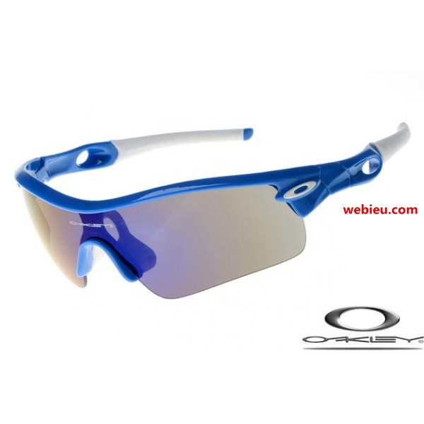 9739578a3f wholesale fake Oakleys radar path with navy blue frame   black ...