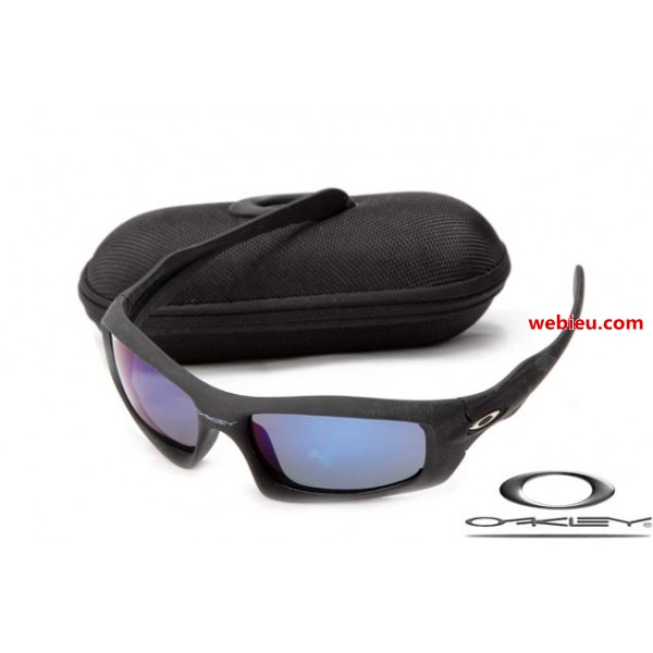 f3ed31d550 fake Oakleys monster pup matte black frame   ice iridium lens for ...