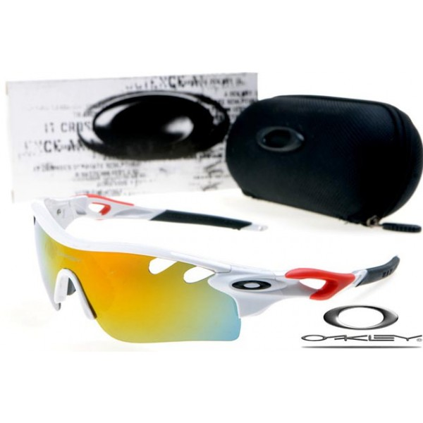 9e87e0b80d93d cheap foakleys radarlock path with white frame   fire iridium lens for  sale