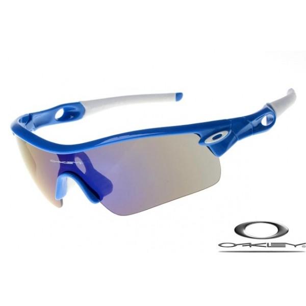 2056b92d01a wholesale fake Oakleys radar path with navy blue frame   black ...