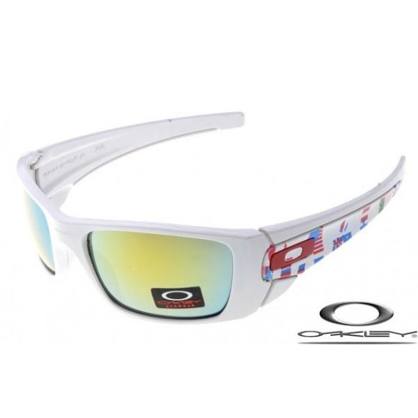 cdf52c6c33eac fake Oakleys fuel cell sunglasses white   fire iridium online ...